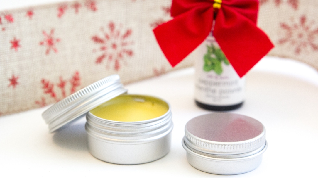 last minute christmas gift ideas easy diy peppermint lip balm