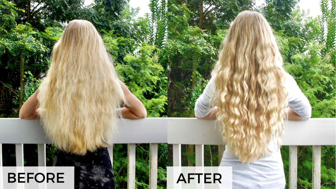 girl with long blonde hair, how to grow hair naturally, how to repair damaged hair, how to grow hair fast, natural hair products, products to grow hair